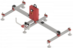 Vacuum - spider - sistem manipulare placi lemn/metal